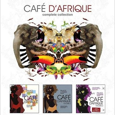 音樂居士*Palace Lounge pres Cafe D Afrique Vol.1-3 (3CD)*CD專輯