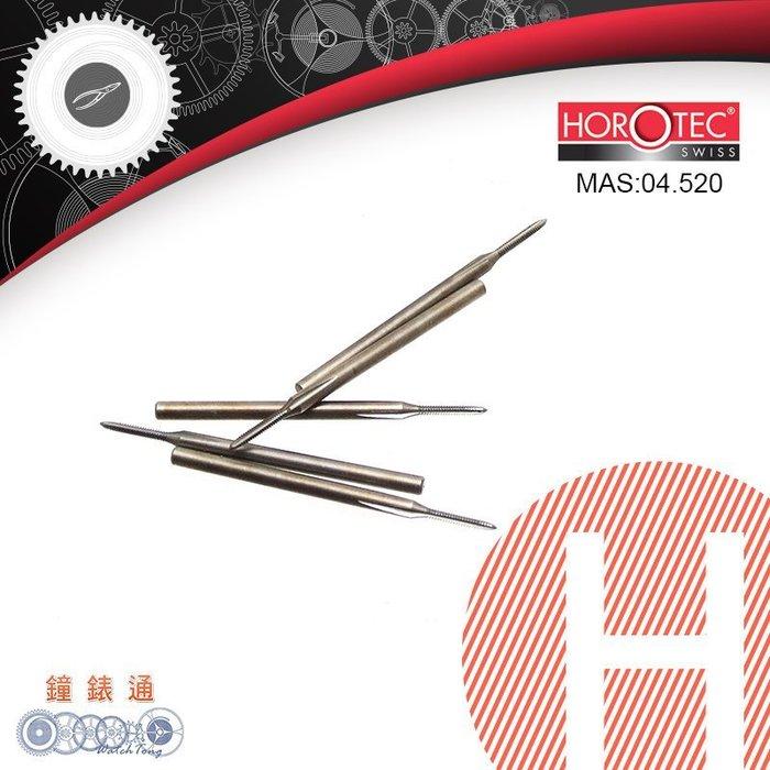 【鐘錶通】04.520《 瑞士HOROTEC 》螺絲攻芽 / 直徑1.4-1.8mm /單支(瑞士原裝)├鐘錶維修工具┤