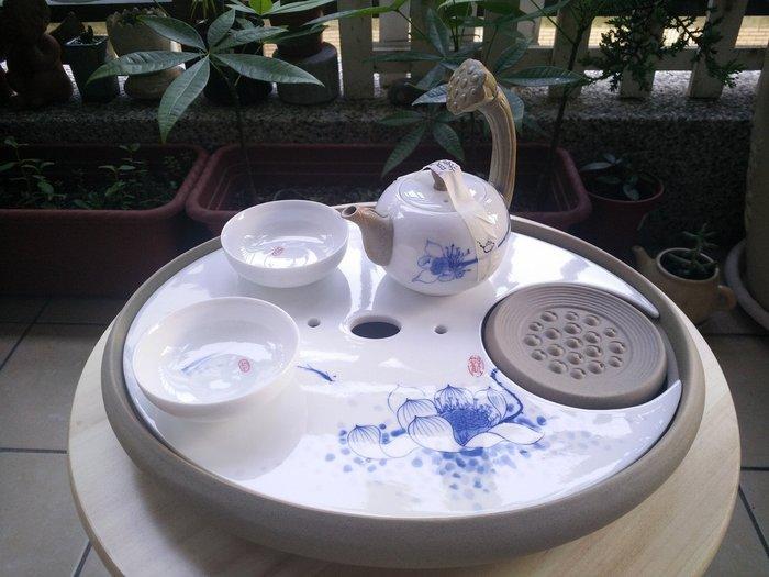 二人在家泡茶也有情調內含不同茶杯讓喝茶不拿錯杯德化窯白瓷青瓷整套功夫茶具茶具組 包含茶壺茶杯茶盤*蘋果樹幸福生活家*