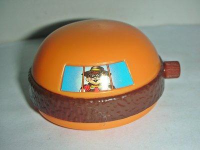 aaL皮商旋.(企業寶寶公仔娃娃)少見1993年麥當勞發行麥當勞新春大遊行-吉祥小漢堡!--距今已有25年歷史!