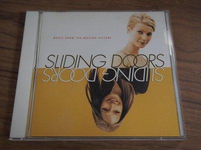 ◎MWM◎【二手CD】Sliding Doors 雙面情人 電影原聲帶 台版, 片況佳無刮痕