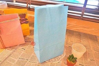 日本角底袋_藍色條紋_20入一組_2698023◎日本.角底袋.藍色.條紋.紙袋.餅乾.西點.點心.包裝