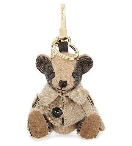 【代購】 Burberry 英倫風衣 小熊 吊飾