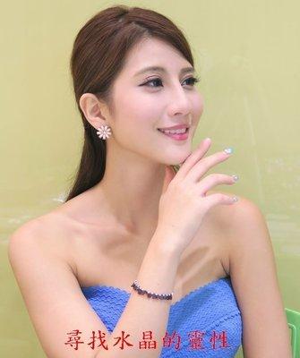 漂亮高雅紅石榴手環 手鍊 手環 925銀 照片中model為小乖