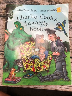 Charlie Cook's Favorite Book 📕written by Julia Donaldson 汪廷培書單