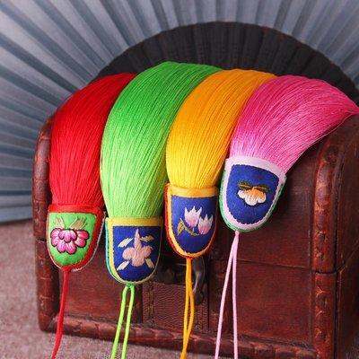 【弘慧堂】 原創純手工蘇繡刺繡中國結真絲人造絲線流蘇穗子民族風中國風吊須
