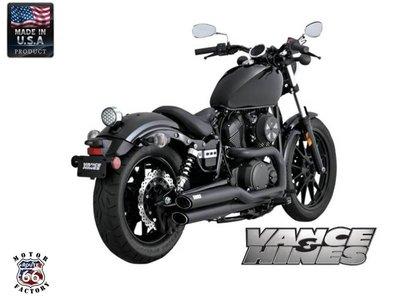 《美式工廠》美國 VANCE HINES 排氣管 V&H 48531 YAMAHA BOLT XV950 R-Spec