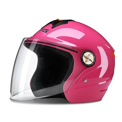 安全帽 頭盔 DFG摩托車頭盔男女士通用電瓶電動車輕便四季安全帽冬季保暖半盔