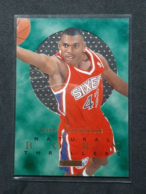 Jerry Stackhouse 1995-96 E-XL Natural Born Thrillers RC