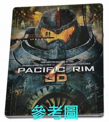 【BD藍光3D】環太平洋:3D + 2D 三碟限定鐵盒版Pacific Rim(限定700套)