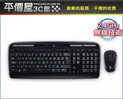 《平價屋3C 》全新 含稅 Logitech 羅技 無線鍵盤滑鼠組 MK330r  2.4GHz 中文版 全黑 $999
