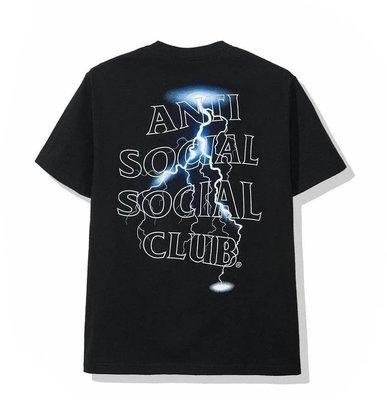 【POP】Anti social social Club ASSC 3M 反光 閃電 短袖 Tee