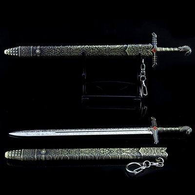 權利遊戲 守誓劍 21cm(長劍配大劍架.此款贈送市價100元的大刀劍架)