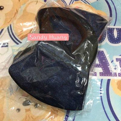 bnnxmask (BNN)  防塵口罩-立體撞色深藍成人口罩5入分售