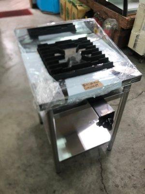 達慶餐飲設備 八里二手倉庫 全新商品設備 單口炒台
