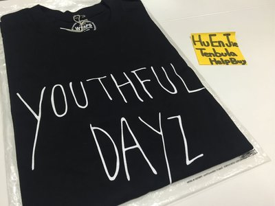 2014aw Wtaps Youthful Dayz Tee 秋冬 黑色 文字 短袖 T-shirt 年輕歲月 現貨 S