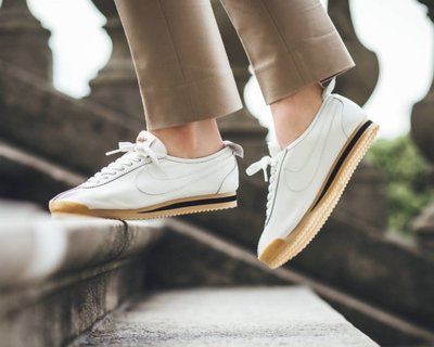 NIKE WMNS CORTEZ 72 白色 皮革 黑白 焦糖底 阿甘 復古 經典 慢跑鞋 男女鞋 847126-100