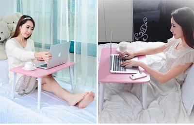 【優上精品】智亞筆記本電腦桌床上用間約可折疊宿舍神器懶人小桌子書桌學習桌(Z-P3164)