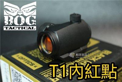 【翔準軍品AOG】BOG T1 快拆內紅點 M4 M16黑色 6517080004162