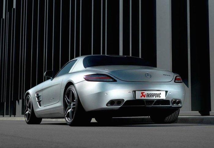 【樂駒】Akrapovic 排氣系統 Mercedes Benz SLS AMG Coupe, Roadster
