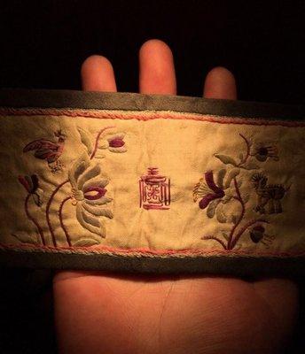 ㊣姥姥的寶藏㊣ 【收藏級】【珍品精拍】清中期 大美豪華刺繡品一張 包到代!