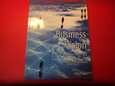 【愛悅二手書坊 12-58】Business Vision    Oxford