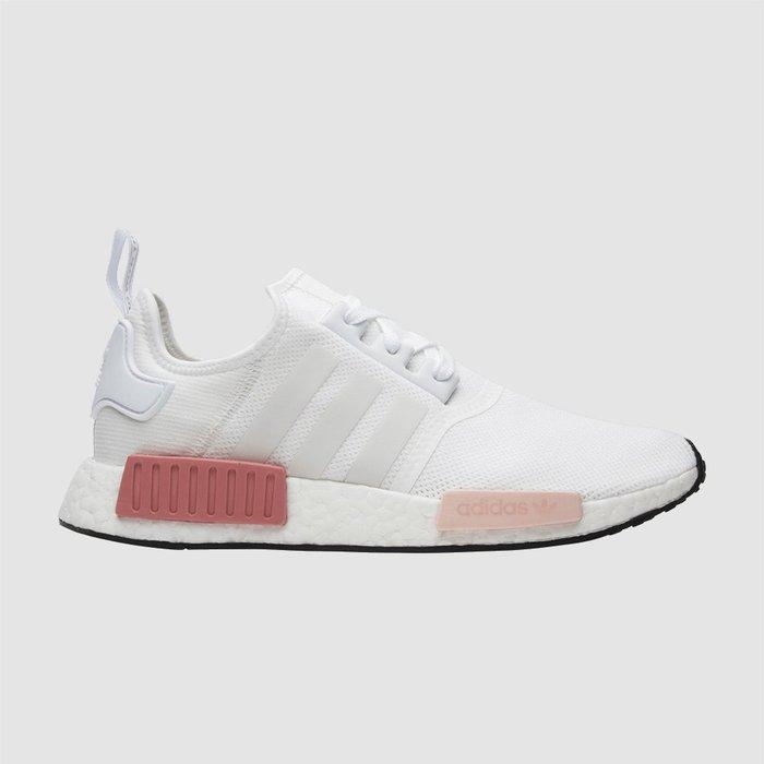【QUEST】 Adidas NMD R1 白粉 玫瑰粉 慢跑鞋 乾燥花 BY9952