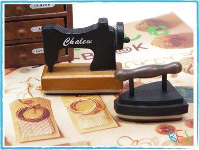 手帳裝飾必備印章│趣味復古造型印章組/兩款選