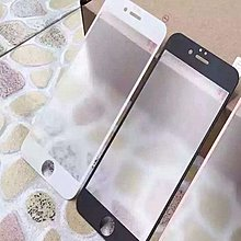 黑 白  iphone 6 6s plus 7 7plus 防指紋 滿版 磨砂 霧面 鋼化玻璃保護貼