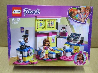 (STH)2018年  LEGO 樂高 Friends 系列- 奧莉維亞的豪華臥室 41329