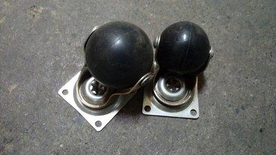 台灣製 高品質黑色PU輪 1.5吋 手推車輪 活動式360度旋轉輪_粗俗俗五金大賣場