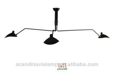 【美學】北歐現代簡約Serge Mouille lamp Six-Arms 鴨嘴張牙舞爪別墅吊燈MX_12