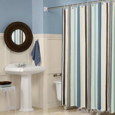 ZIHOPE 衛生間浴室浴簾防水加厚防霉窗簾隔斷門簾淋浴掛簾子布ZI812