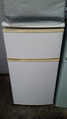 新竹國聖二手中古冰箱家電 KOLIN 歌林 130公升 雙門冰箱 有維修保固 舊機回收