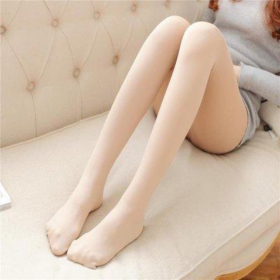 春秋薄款顯瘦80d天鵝絨連褲襪性感美腿肉色絲襪膚色打底襪子中厚