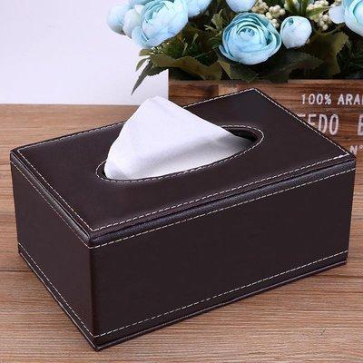 面紙收納 餐廳車載簡約創意餐巾抽紙盒廣告定制logo