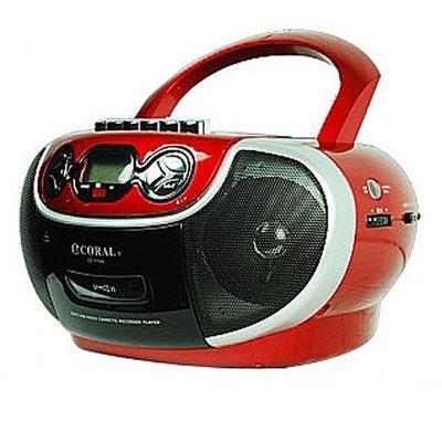 【含稅店】CORAL CD-7700 多功能手提音響 AM/FM收錄音機 卡帶 CD USB CD7700