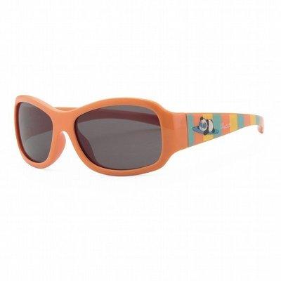 【魔法世界】義大利 CHICCO 兒童專用太陽眼鏡24m+ 衝浪熊貓橘