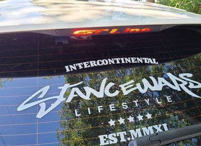 福特 19年 Focus MK4 第三煞車燈 裝飾貼 尾燈裝飾貼 ST Line字樣 卡夢貼紙 第三煞車燈字樣 彰化縣