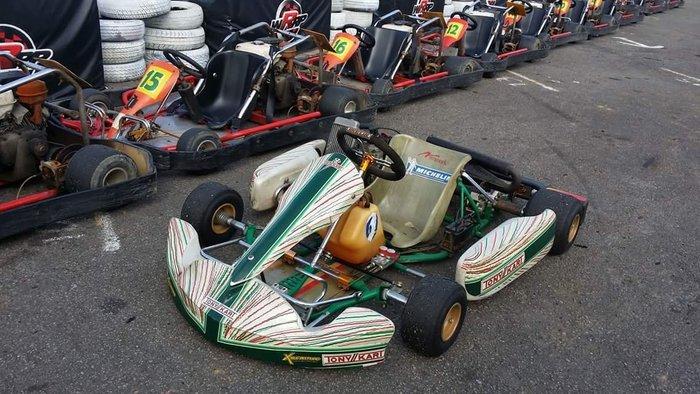 TONY KART 比賽車 125cc 水冷引擎_GO KART比賽車_廠車_義大利_跑跑卡丁車_賽車椅_排氣管