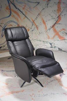 【鷹牌休閒椅特賣】全牛皮-全新庫存裝箱7折-里昂II (主人椅/老板椅/辦公椅/休閒椅)-免運