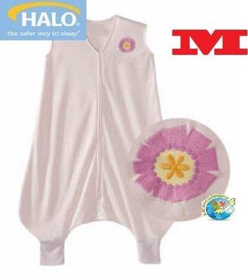 X.H. Baby【美國 HALO】SleepSack Early Walker 防踢被 背心 睡袋 春夏針織 粉紅小花