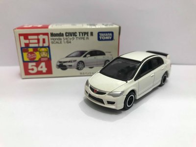 Tomica No.54 Honda Civic Type R 新車貼