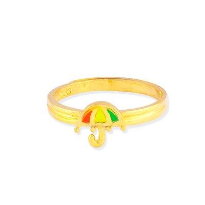 【JHT 金宏總珠寶/GIA鑽石】0.76錢 雨傘黃金戒指 (請詳閱商品描述)
