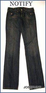 喬瑟芬【NOTIFY JEANS】7折特價$10150~藍色復古單寧煙管牛仔褲MR2959~