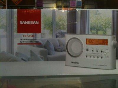 可自取 視聽影訊 台灣山進公司貨保固 SANGEAN PR-D4 PR-D4P二波段數位收音機另有d4 d5 d8