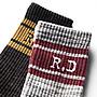 { POISON } RETRODANDY BLENDED SOCKS L 老風格復古條紋中筒襪