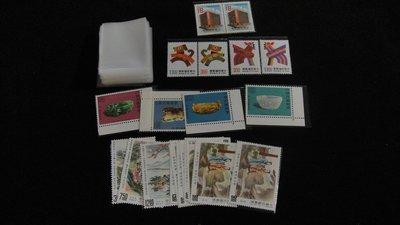 【大三元】郵票專用平口OPP袋-長5.3*開口3.8公分放單枚古畫.單套.二方連.適放四.五格集郵卡-護郵袋300個