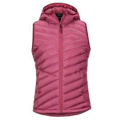 【Marmot總代理】Highlander 女款連帽保暖羽絨背心 型號:79380