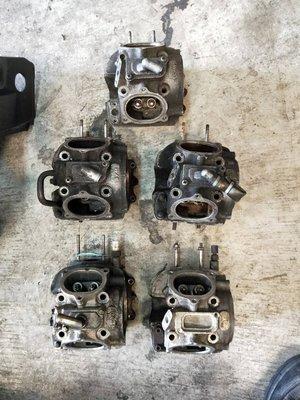 達成拍賣  悍將 戰將 Fighter JET 汽缸頭 凸輪軸 缸頭 溫度感知器 搖臂 汽門 中古汽機車零件均有販售